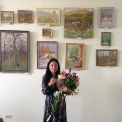 Выставка художницы Натальи Жарких_2