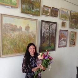 Выставка художницы Натальи Жарких_7