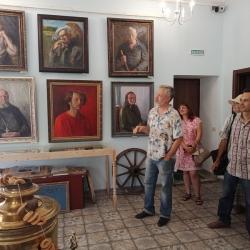 Выставка художника А.З. Барышева_2