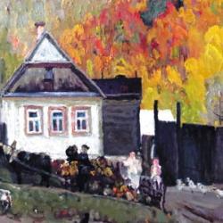Выставка художника Руднева Л.И._1