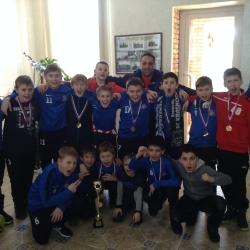 Юношеская футбольная команда Старый Оскол